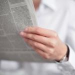 Valaštiansky richtár noviny číta