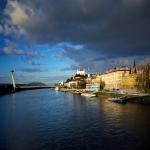 Tichá voda do Dunajka padala