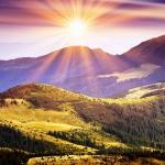 Sadá slnko za hori