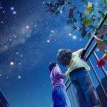 Ligoce sa moc hviezdičiek na nebi